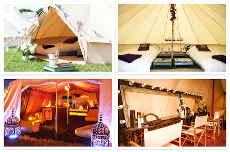 Hotel Bell Tent & Camp Bestival 2018 - Camping - Hotel Bell Tent