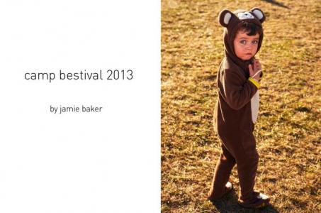 Camp Bestival 2013: a little bear fancy dress